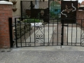 wrought iron gate Bespoke