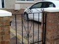 simple cost effective iron gate