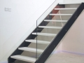 Innovative Metal Stringer Stairs Modern Style