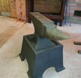Ard blacksmith  coatbridge  Lee love our new anvil